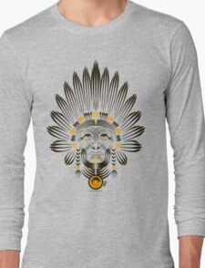 Portrait of American Indian  Long Sleeve T-Shirt