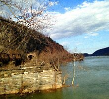 Harpers Ferry, Potomac River by VisionQuestArts