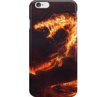 Fiery Serpent  iPhone Case/Skin