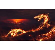 Fiery Serpent  Photographic Print