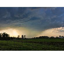 What A Storm Photographic Print