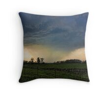 What A Storm Throw Pillow