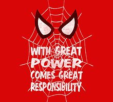 With great power... ( Spider-man ) by LiRoVi