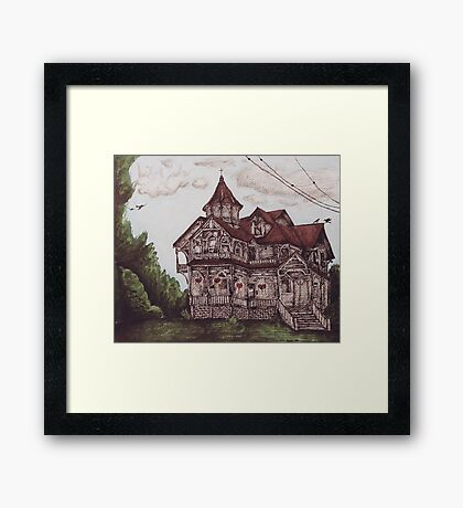 Victorian Sanctuary Framed Print