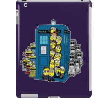 Look Out Doctor Minion iPad Case/Skin
