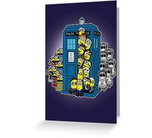 Look Out Doctor Minion Greeting Card