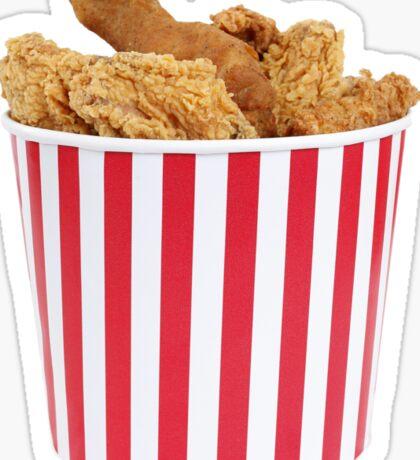 Bucket Of Fried Happiness Sticker