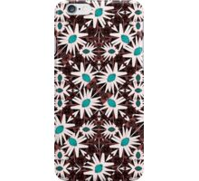 Modern Floral Geometric Pattern iPhone Case/Skin