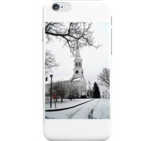 First Parish Church - York, Maine iPhone Case/Skin