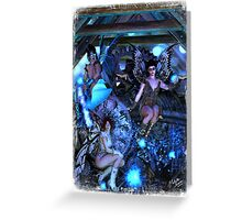 Iaconagraphy: Time Guardians: The Attic Greeting Card