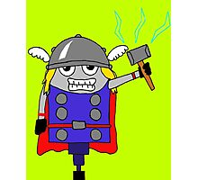 The NORSE God of Thunder Photographic Print