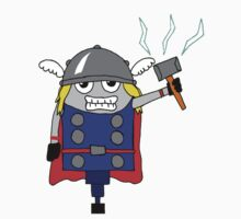 The NORSE God of Thunder Baby Tee