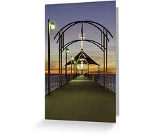 Brighton Jetty Architecture Greeting Card