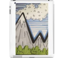 Mountain views  iPad Case/Skin