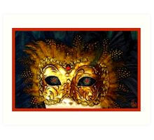 Mask of Intrigue  Art Print
