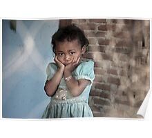 Lombok Girl Poster