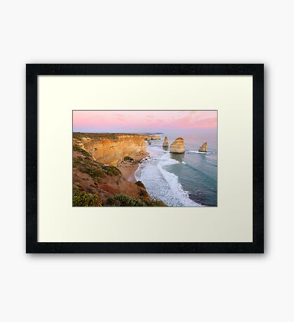 The Twelve Apostles, Great Ocean Road, Australia Framed Print