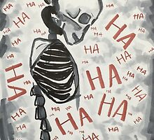 Laughing at Death by Kyra Crounse