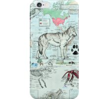 CANUS LUPUS iPhone Case/Skin