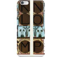 The Song Of Sixpence Pocket Book 1909 Walter Crane 74 - I J K L M N O P Q R Alphabet iPhone Case/Skin
