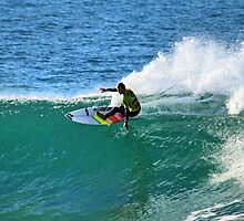 Joel Parkinson 2009 Rip Curl Pro by Andy Berry