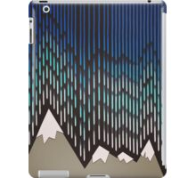 Abstract Majestic Rainy Mountains iPad Case/Skin