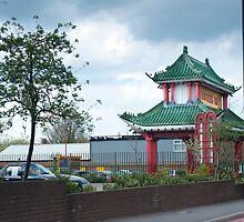 Wing Yip Restaurant Pagoda #1 by DonDavisUK