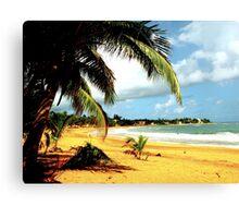 Playa Azul 2- Puerto Rico Canvas Print