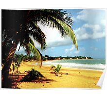 Playa Azul 2- Puerto Rico Poster