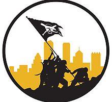 Raise The Jolly Roger by Pixburgh
