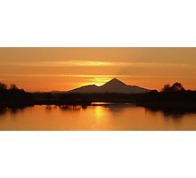 Reek Sunset Photographic Print
