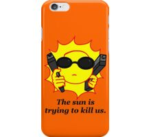 Gangster Sun  iPhone Case/Skin