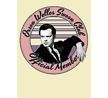Orson Welles Swoon Club - Faded Pink Photographic Print