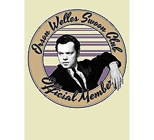 Orson Welles Swoon Club - Faded Orange Photographic Print