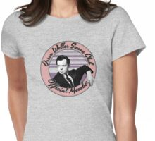 Orson Welles Swoon Club - Faded Pink Womens Fitted T-Shirt