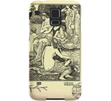 The shepheard's calender twelve aeglogues proportionable to the twelve monethes Newly adorned with twelve pictures and other devices by Walter Crane 1898 73 - June Samsung Galaxy Case/Skin