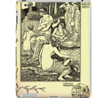 The shepheard's calender twelve aeglogues proportionable to the twelve monethes Newly adorned with twelve pictures and other devices by Walter Crane 1898 73 - June iPad Case/Skin