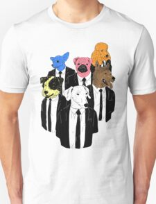Real Reservoir Dogs sticker T-Shirt
