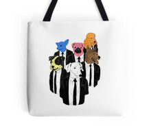 Real Reservoir Dogs sticker Tote Bag