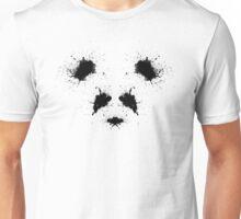 Rorschach Panda Unisex T-Shirt