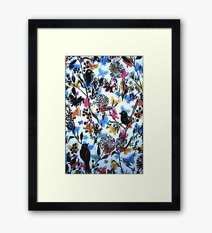 Birds Paradise Framed Print