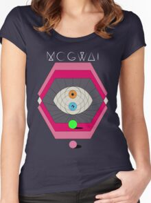 MOGWAI'S EYES Women's Fitted Scoop T-Shirt