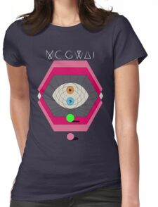 MOGWAI'S EYES Womens Fitted T-Shirt
