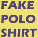 This is a fake polo shirt by philman88