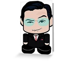 Colbert Politico'bot Toy Robot 1.0 Greeting Card