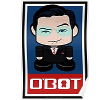 Colbert Politico'bot Toy Robot 2.0 Poster