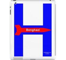 Hillary Campaign Logo Parody iPad Case/Skin