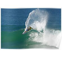 Mick Fanning wins heat at 2009 Rip Curl Pro (2) Poster