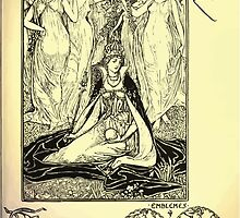 The shepheard's calender twelve aeglogues proportionable to the twelve monethes Newly adorned with twelve pictures and other devices by Walter Crane 1898 53 - April by wetdryvac