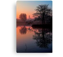 Misty Dawn Sydenham Canvas Print